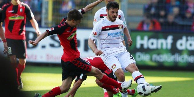 Прогноз на матч Фрайбург - Байер 29.05.20
