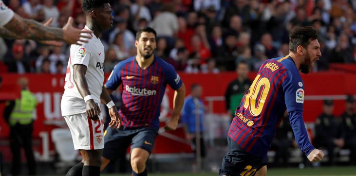 Прогноз на матч Севилья - Барселона 19 июня 2020