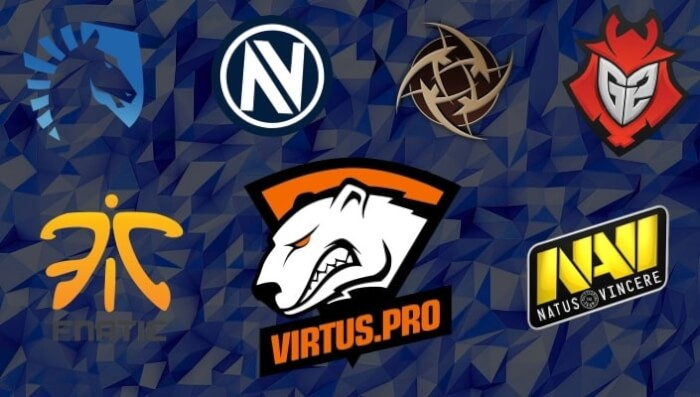 Лучшие команды по киберспорту