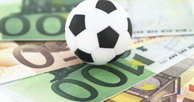 Распределение банка в ставках на спорт